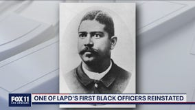 Police Commissioners reinstate one of LAPD's first Black officer