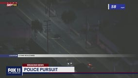 Suspect leads police on chase across Maywood area