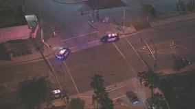 LASD investigating shooting, crash in City of Industry