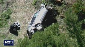Tiger Woods responsive and recovering after Rolling Hills Estates crash