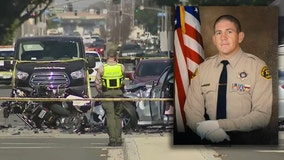 LA County motor deputy killed in crash in Lakewood