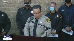 Tiger Woods crash update: LA County's Sheriff and Fire Chief discuss details of crash