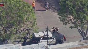 Suspect in stolen BMW taken into custody after police chase ends in Whittier
