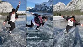Biracial figure skater advocates for social justice, representation in the sport