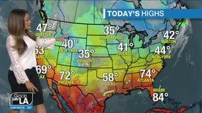 Weather Forecast for Thursday, Feb. 25