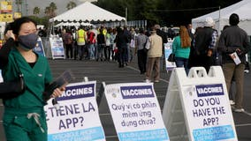 Disneyland vaccination site to close temporarily due to lack of supply