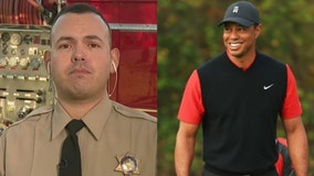 Los Angeles County sheriff's deputy recounts arriving at Tiger Woods' crash site