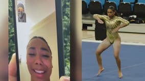UCLA star gymnast Margzetta Frazier gets surprise call from Janet Jackson after viral tribute