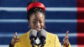 Poet Amanda Gorman reads tribute poem at Super Bowl