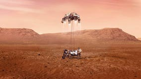 Perseverance: Secret message planted on giant parachute that carried Mars rover