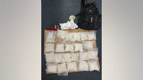 Long Beach man caught with 22 pounds of meth at Florida airport: police