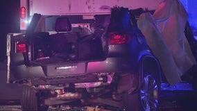 Man arrested on suspicion of DUI following fiery crash in Sherman Oaks