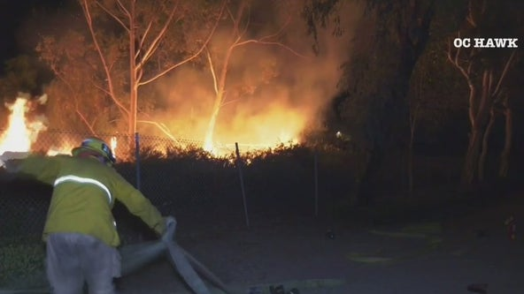Drone helps capture serial arson suspect in Irvine