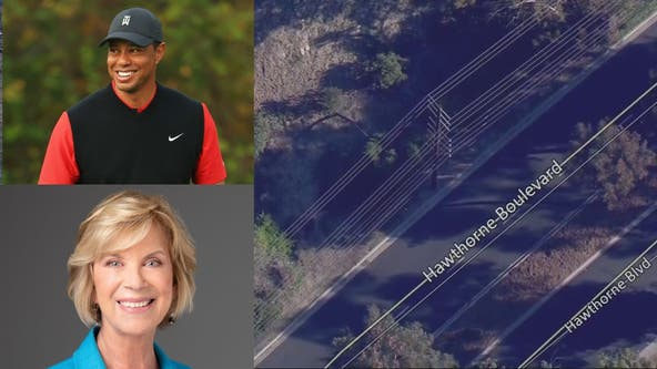 LA County Supervisor orders safety review of road where Tiger Woods crashed car