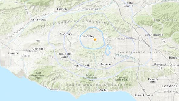 3.2 magnitude earthquake hits Simi Valley area