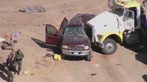 13 of 25 passengers inside SUV killed in crash with big rig