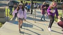 Las Virgenes 4th, 5th graders back to school