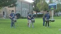 El Segundo High School seniors return to campus