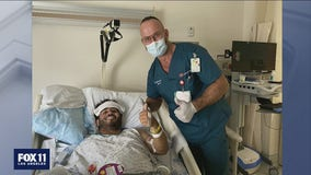 FOX 11 photojournalist Joab Perez's road to recovery showing promise