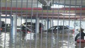 One rescued, utility crews repair broken 16-inch water main in Pacific Palisades