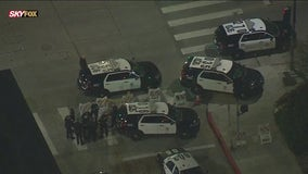 Protesters clash with police during Breonna Taylor rally in Hollywood; 11 arrested