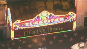 Hollywood's legendary El Capitan Theatre reopens to the public
