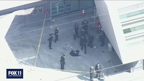 Police shoot allegedly armed man outside Olympic Station in Pico-Union