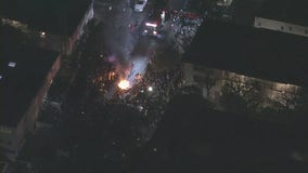 UCLA fans light couch on fire after Bruins advanced to Final Four