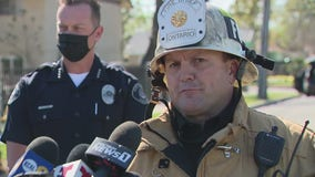 Officials provide update after large fireworks explosion in Ontario