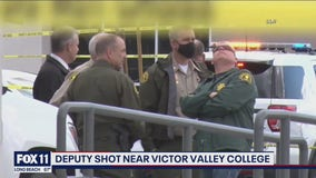 Deputy in critical condition after being shot by suspect in Hesperia