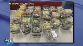 Lights, camera, 'Every Day Action' to help the hungry