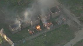Authorities detonate remaining fireworks from Ontario