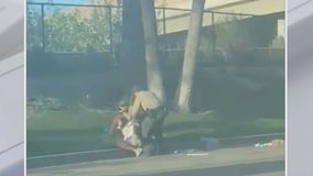 Video shows man fighting with deputies in Canyon Country, probe launched