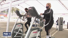 Gyms set to reopen for indoor use as LA County moves to red tier
