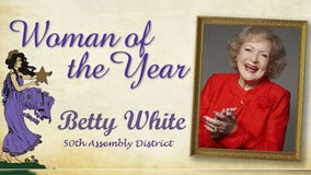 Betty White receives 'Woman of the Year' honor in California