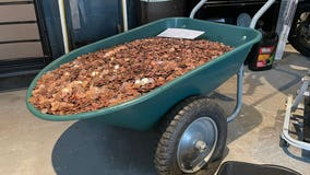 Fayetteville man receives last paycheck in oil-covered pennies dumped on his driveway