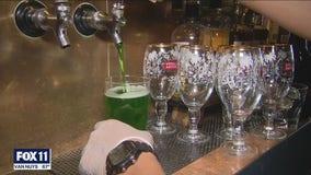 Restaurants, bars in red tier celebrating St. Patrick's Day
