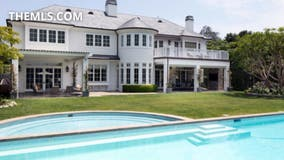 PHOTOS: Lakers star LeBron James' Brentwood mansion listed for $20.5M