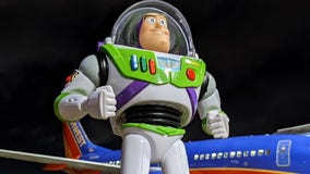 Southwest employees send lost Buzz Lightyear toy on epic adventure before returning him to family