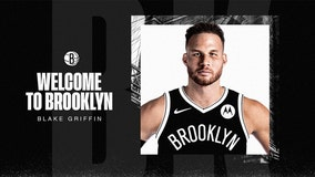 Blake Griffin joins the Brooklyn Nets
