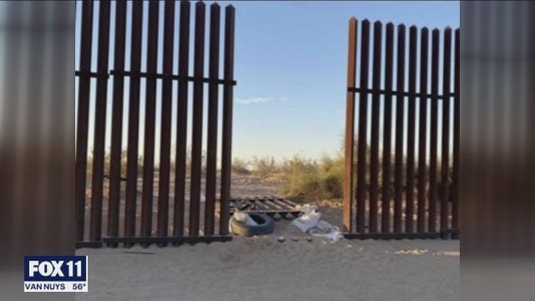 SUV involved in deadly Imperial County crash came through hole in border fence
