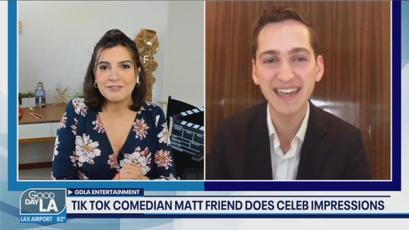 Tik Tok Comedian and Celebrity Impressionist Matt Friend Show Off His Talents On Tik Tok Tuesday