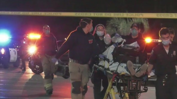 Man critically wounded after being struck by police gunfire in Riverside