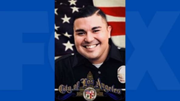 LAPD officer dies days after being hit by car in South Los Angeles