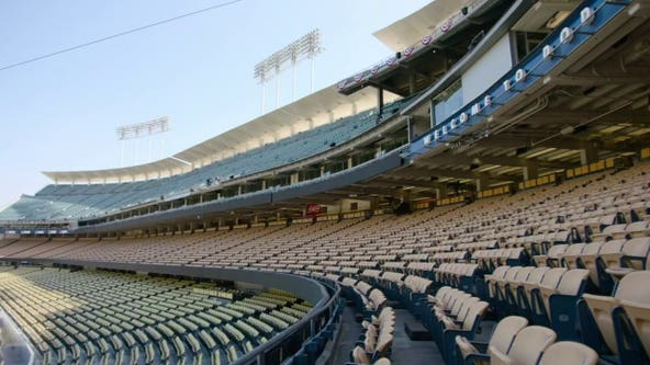 Despite reduced capacity and COVID-19 concerns, Dodgers fans celebrate expected return to ballpark