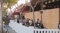 West Hollywood businesses, partygoers celebrate orange tier nightside
