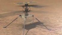 NASA makes historic 1st flight of Ingenuity helicopter on Mars