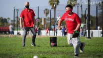 Los Angeles Angels holds youth clinic on Jackie Robinson Day