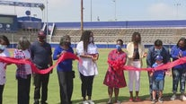 'Dodgers Dreamfields' complex unveiled in Compton on Jackie Robinson Day
