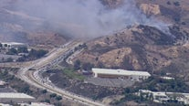 Madera Fire: Crews contain 10 acre brush fire that sparked along Highway 118 near Moorpark